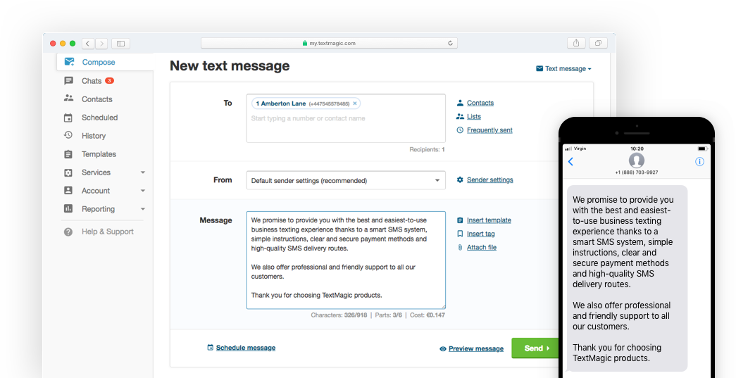 Long Text Messages: Send Up to 918 Characters per SMS