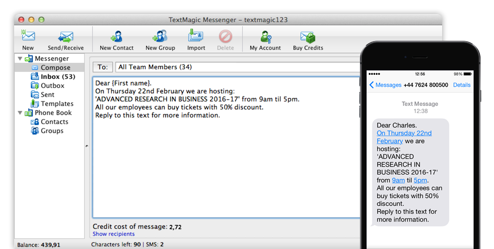 SMS Software: Download & Send Texts From PC and Mac