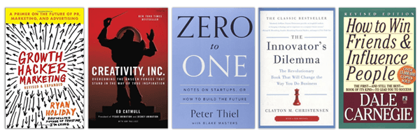 Must read in 2016: 5 business books that help you grow your company.