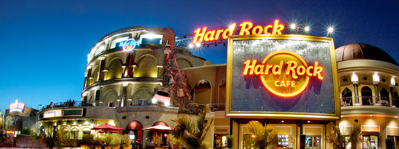 Hard Rock Cafe exterior