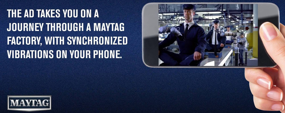 Maytag mobile ad