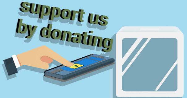 Mobile donation, support us