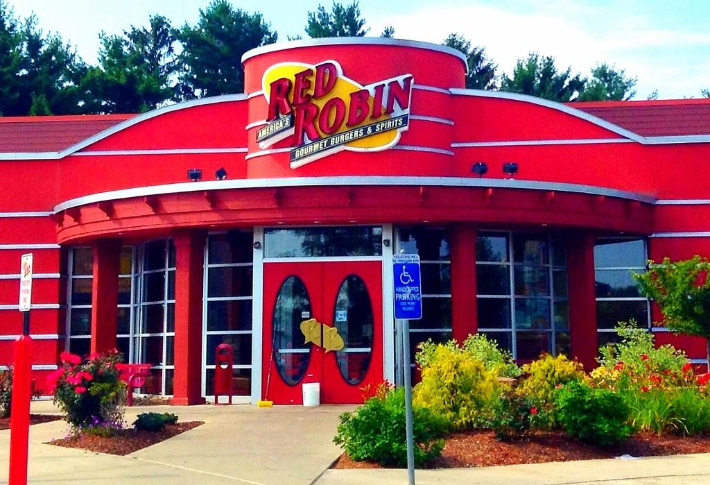 Red Robin's burger house