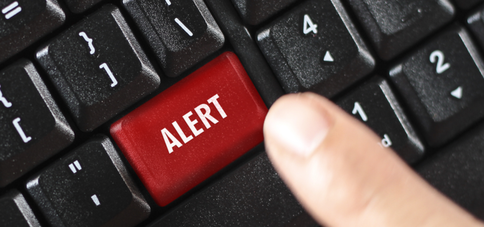 Alert button in keyboard
