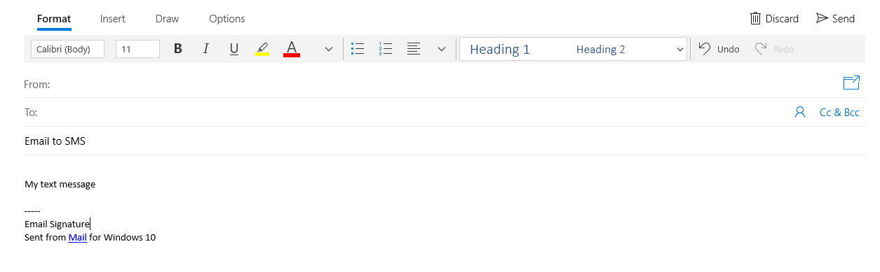 email cut-line