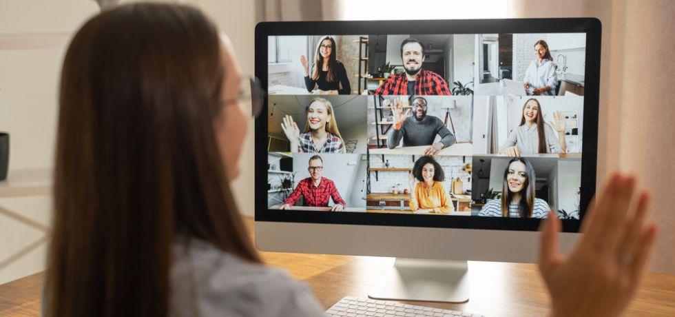 Remote communication with staff using iMac